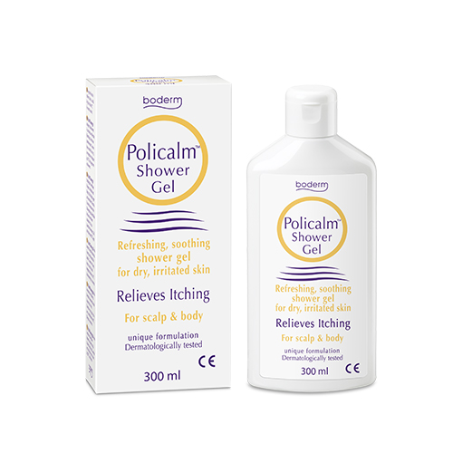 Bagnoschiuma per pelle irritata Policalm Shower Gel 300ml